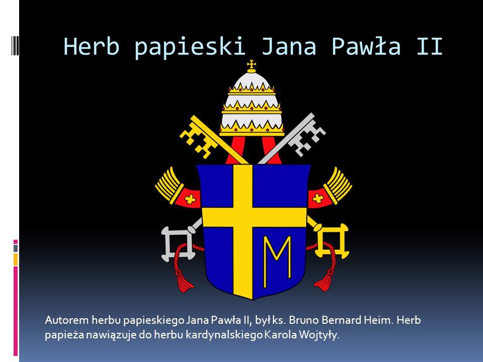 Herb papieski Jana Pawła II