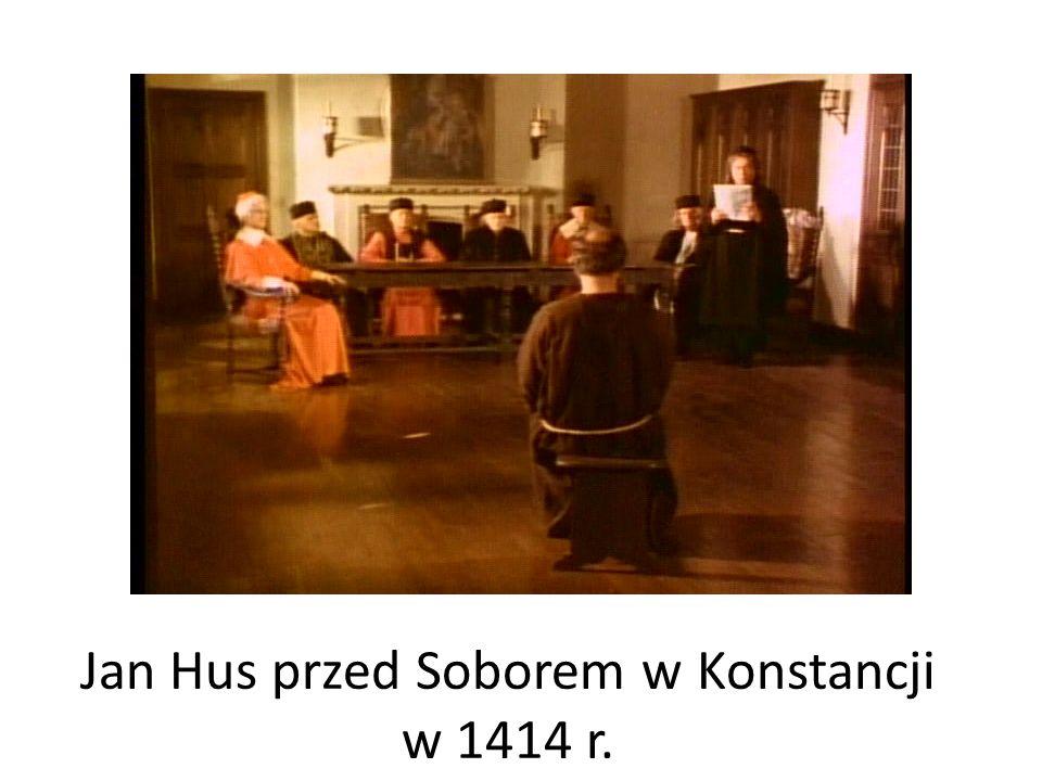 Jan Hus przed Soborem w Konstancji w 1414 r.