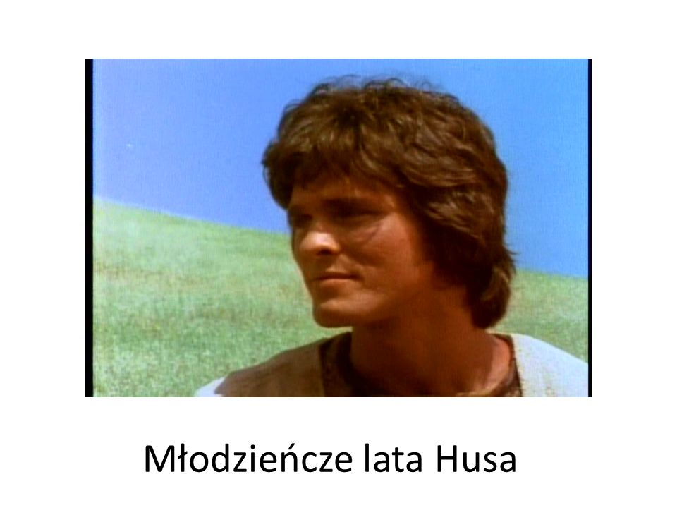 Młodzieńcze lata Husa