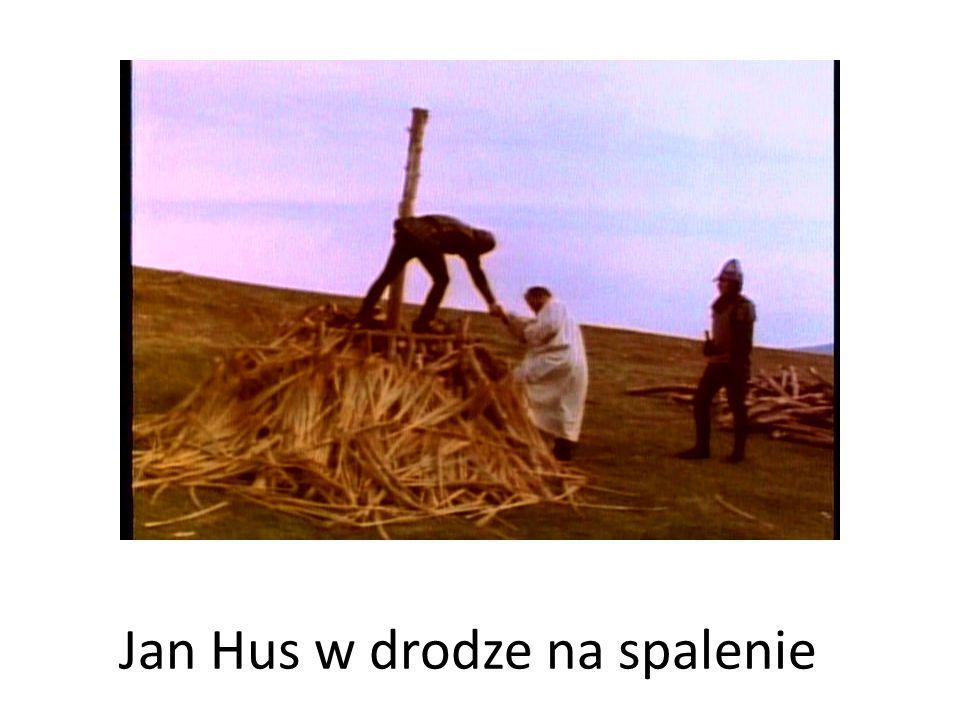 Jan Hus w drodze na spalenie
