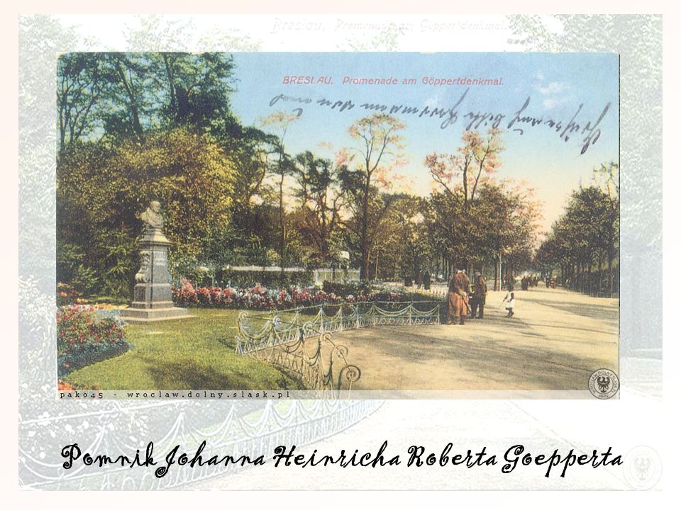 Pomnik Johanna Heinricha Roberta Goepperta