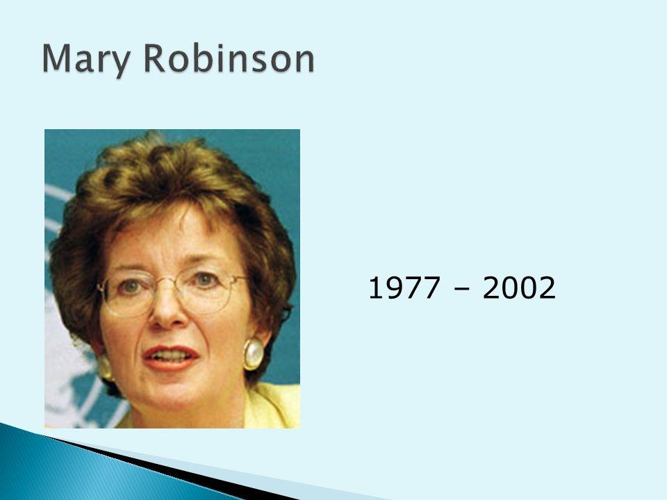 Mary Robinson 1977 – 2002