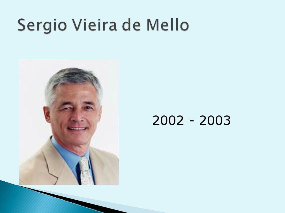 Sergio Vieira de Mello 2002 - 2003