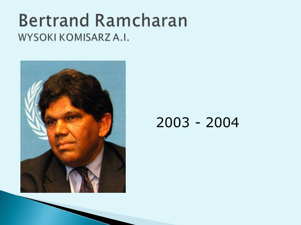 Bertrand Ramcharan WYSOKI KOMISARZ A.I.