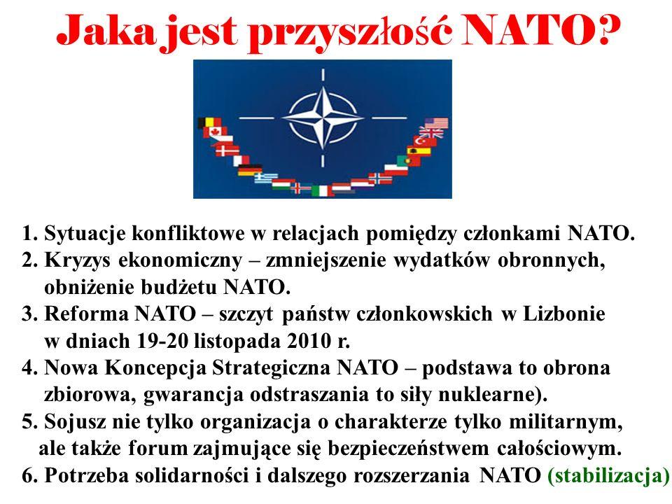 Jaka jest przyszłość NATO