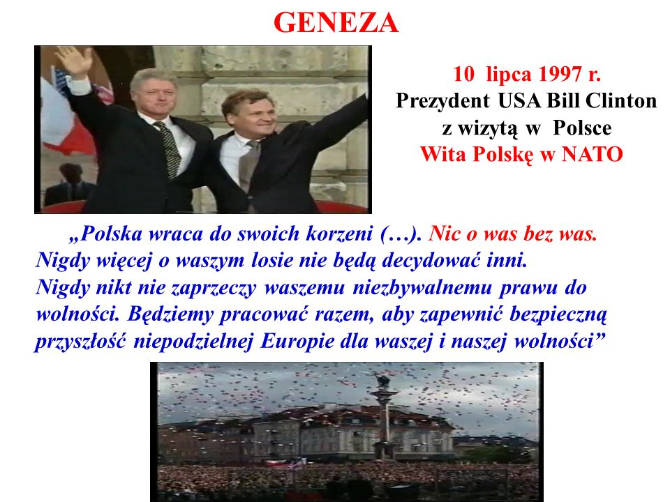 Prezydent USA Bill Clinton