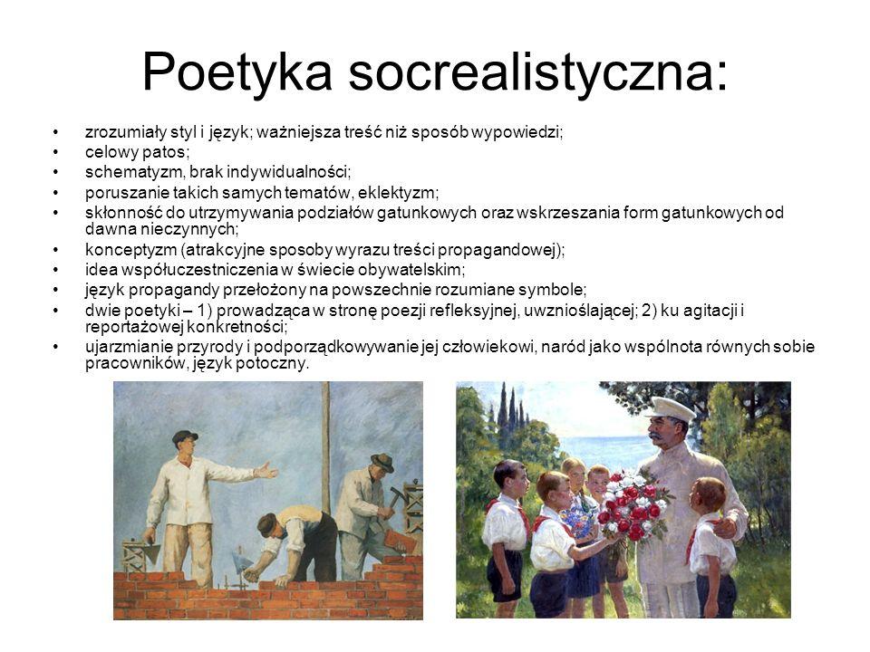 Poetyka socrealistyczna: