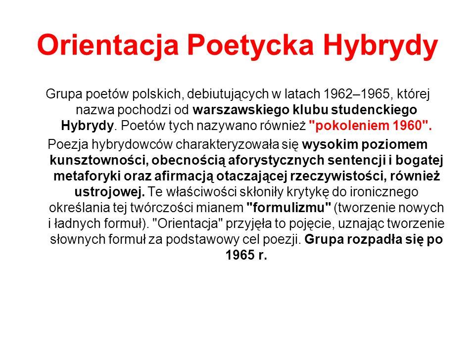 Orientacja Poetycka Hybrydy