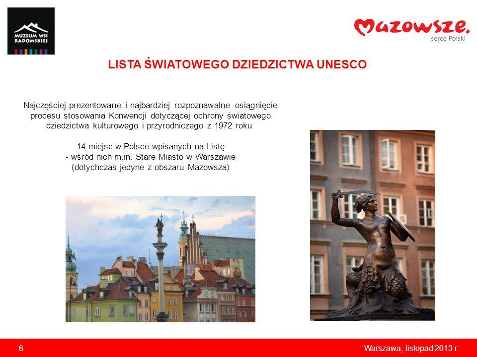 LISTA ŚWIATOWEGO DZIEDZICTWA UNESCO