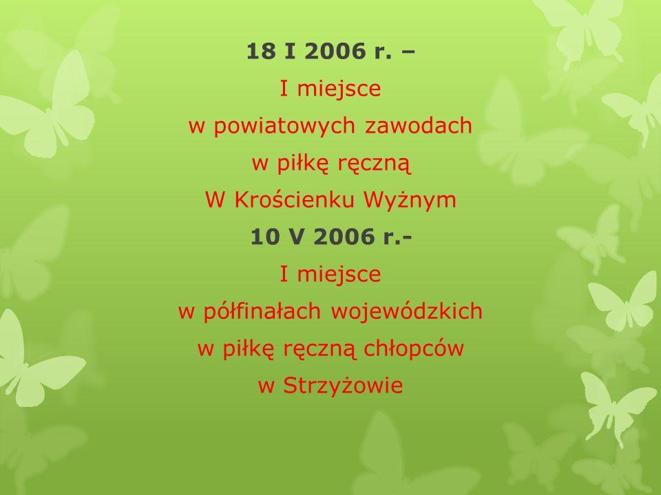 18 I 2006 r.