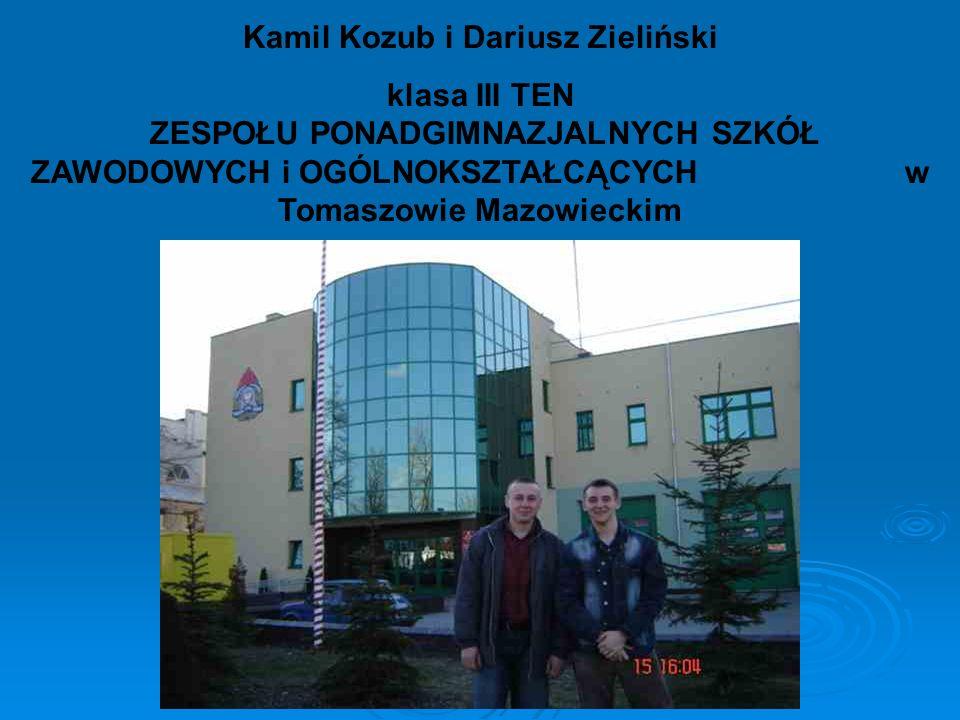 Kamil Kozub i Dariusz Zieliński