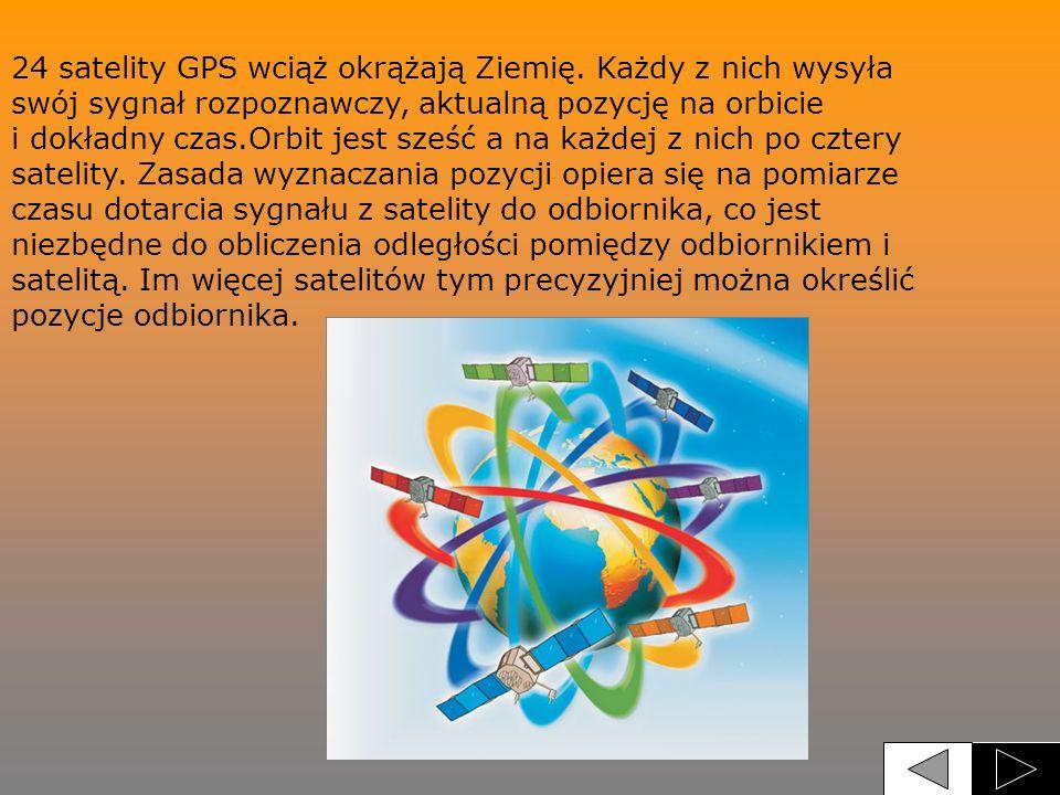24 satelity GPS wciąż okrążają Ziemię