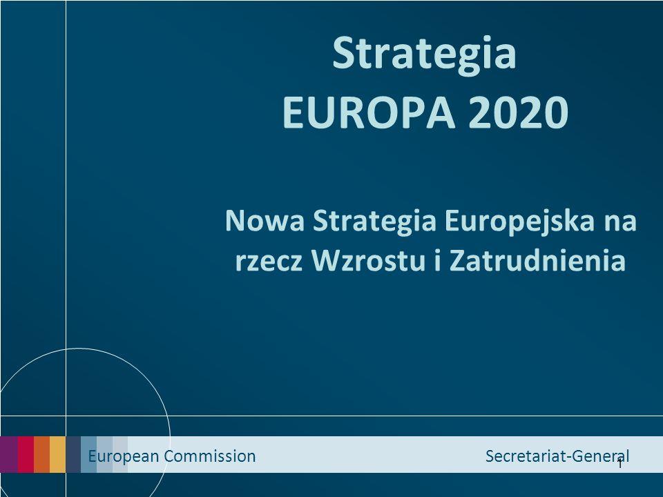 Nowa Strategia Europejska na rzecz Wzrostu i Zatrudnienia