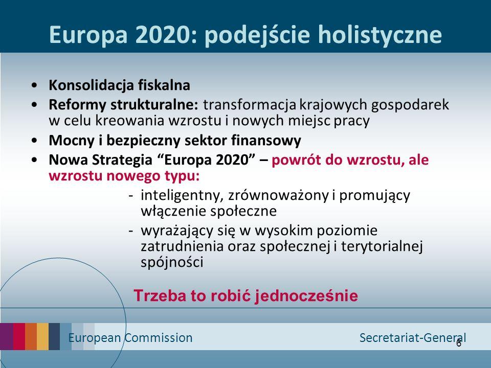 Europa 2020: podejście holistyczne