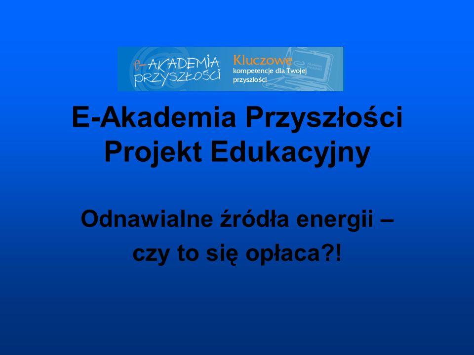 E-Akademia Przyszłości Projekt Edukacyjny