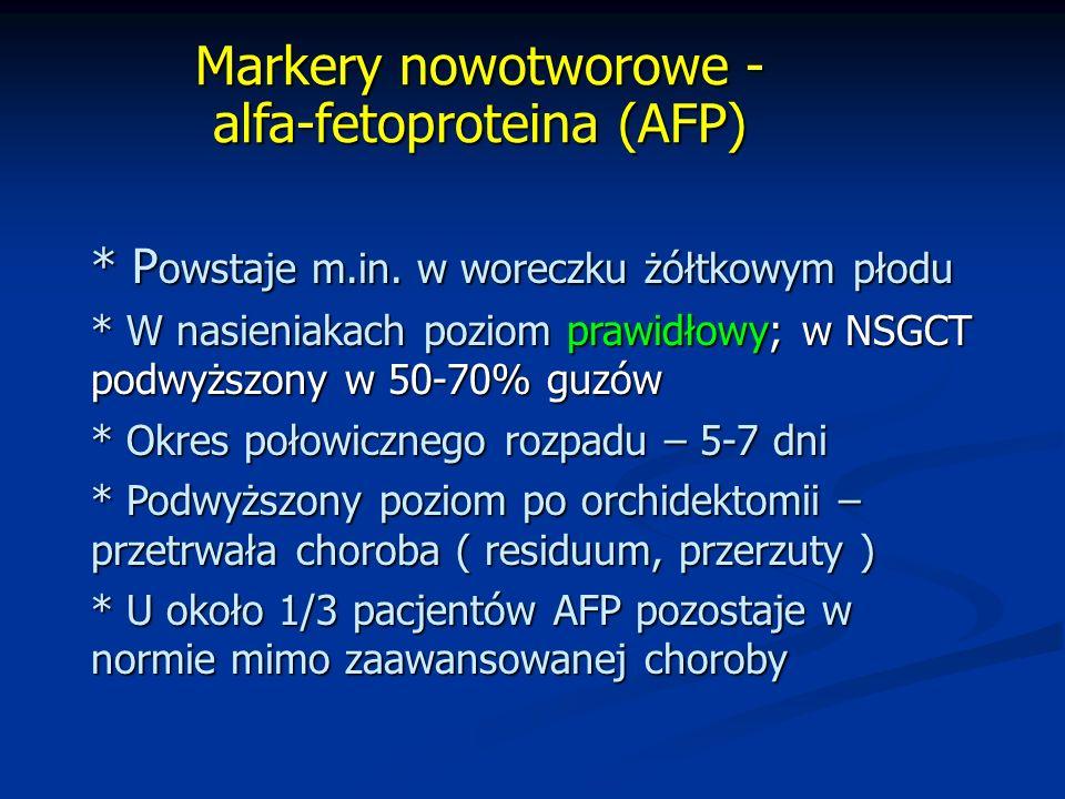 Markery nowotworowe - alfa-fetoproteina (AFP)