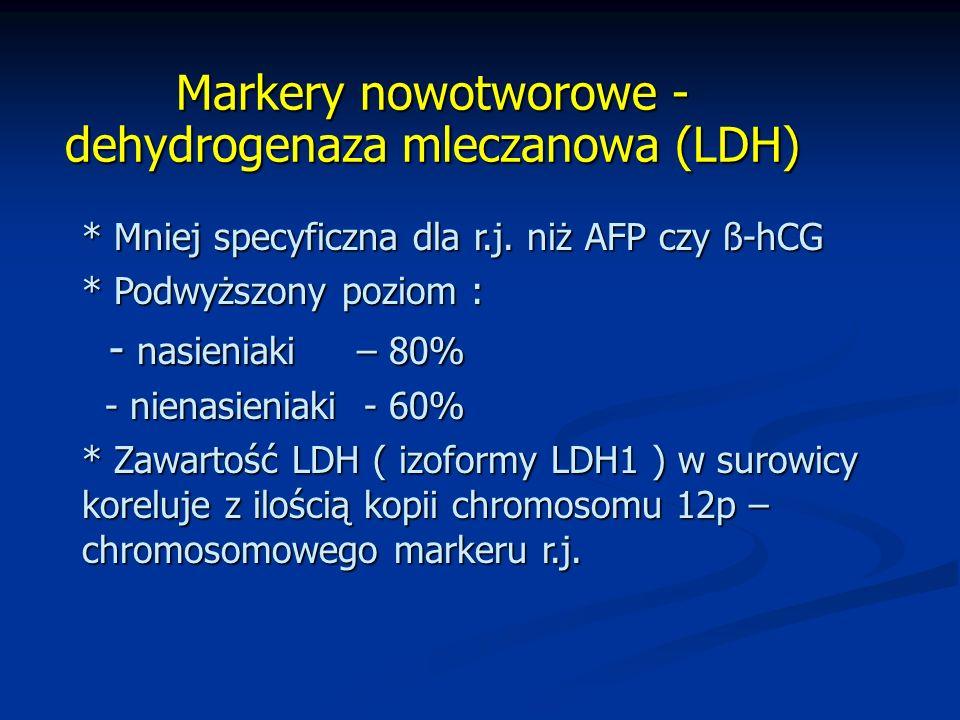 Markery nowotworowe - dehydrogenaza mleczanowa (LDH)
