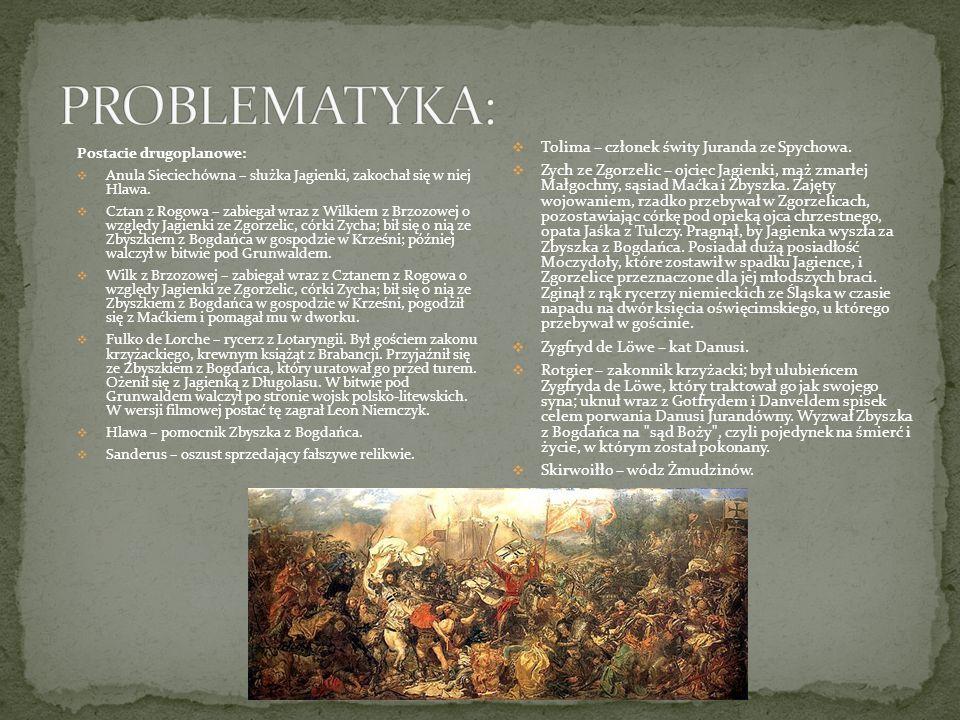 PROBLEMATYKA: Tolima – członek świty Juranda ze Spychowa.