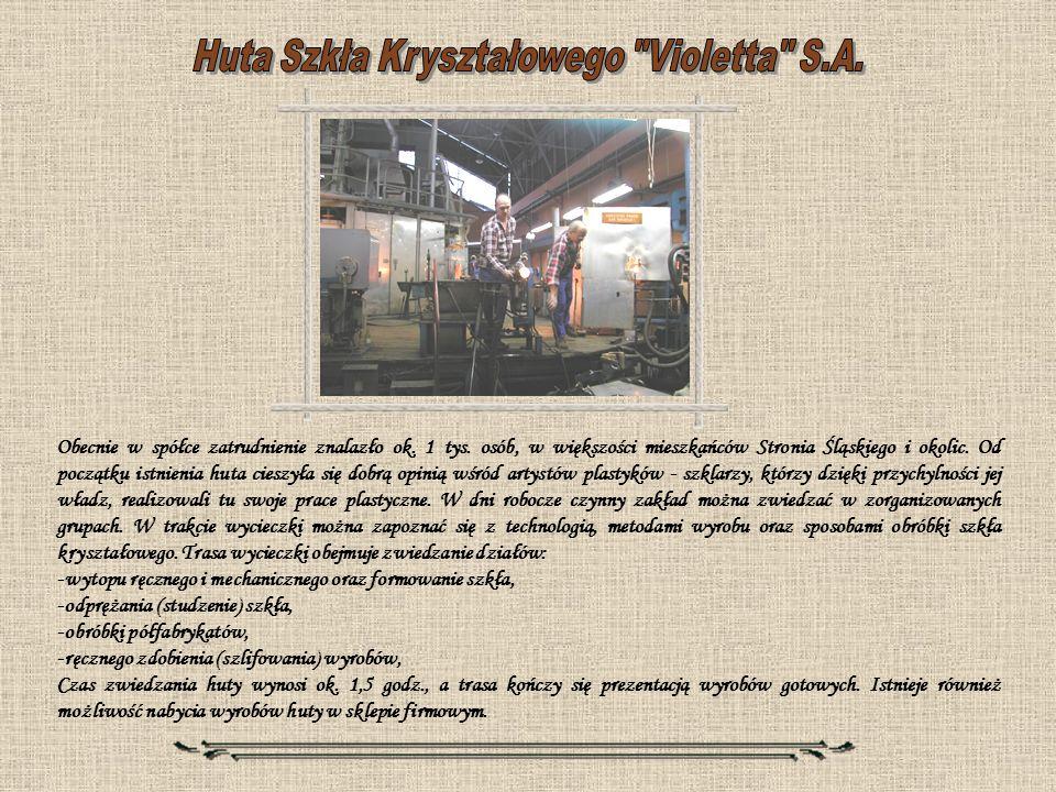 Huta Szkła Kryształowego Violetta S.A.
