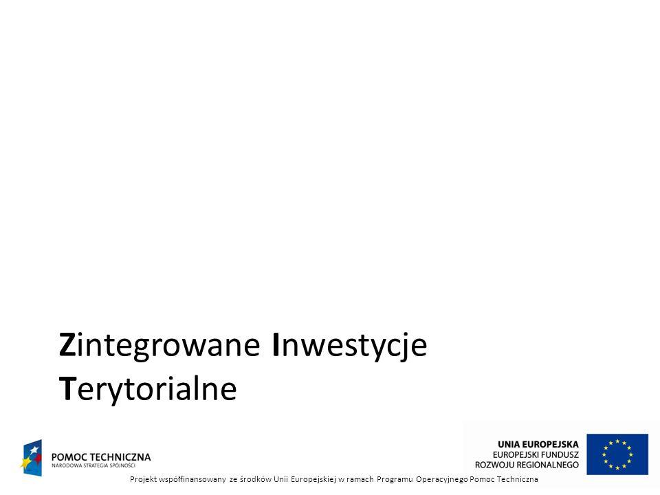 Zintegrowane Inwestycje Terytorialne