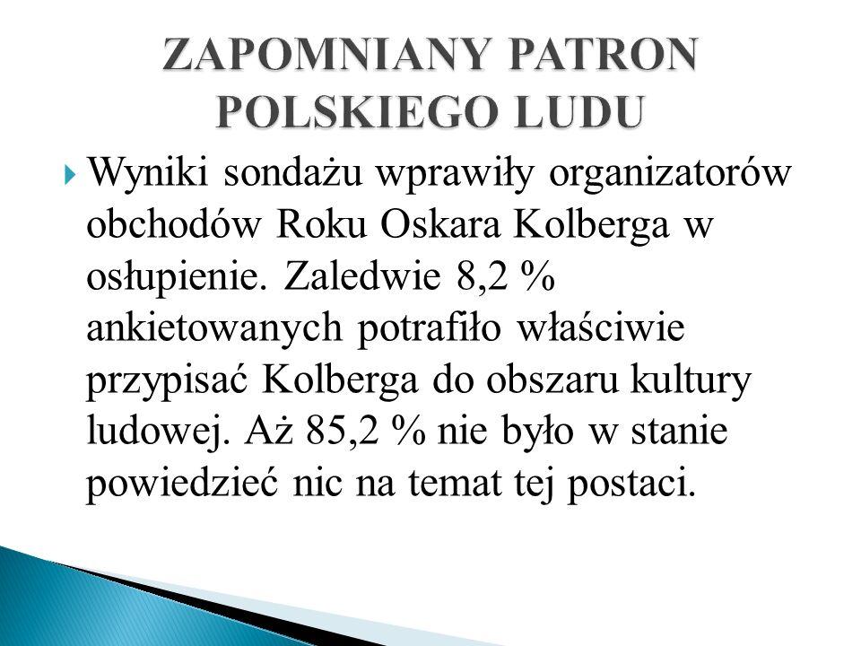 ZAPOMNIANY PATRON POLSKIEGO LUDU
