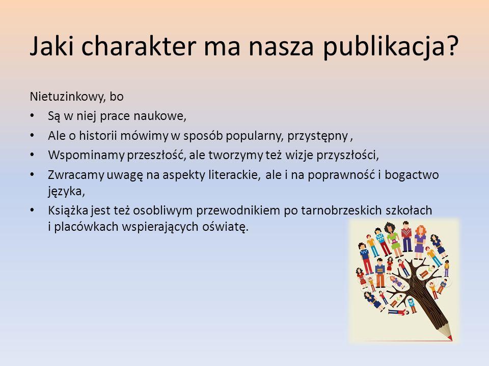 Jaki charakter ma nasza publikacja