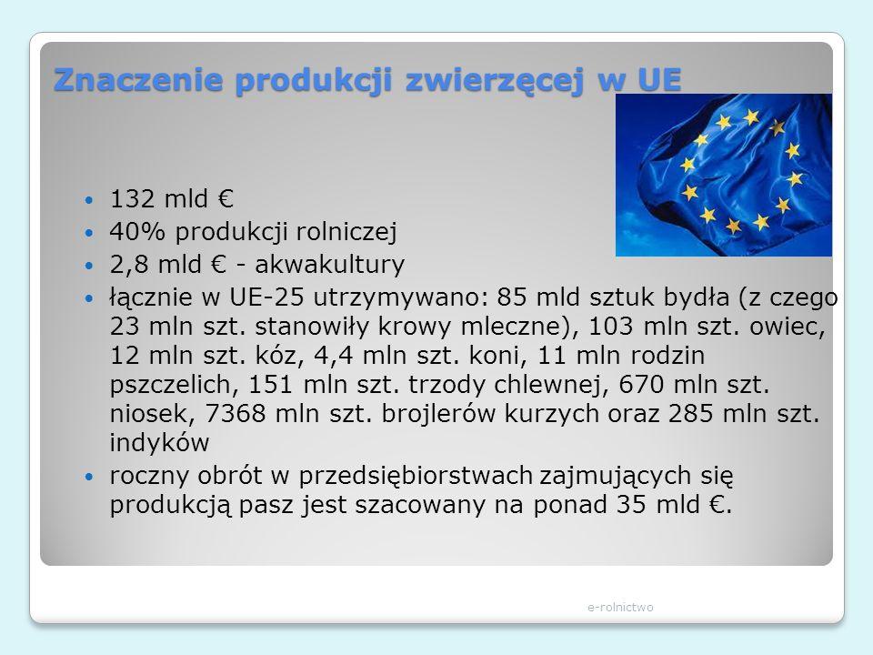 Znaczenie produkcji zwierzęcej w UE