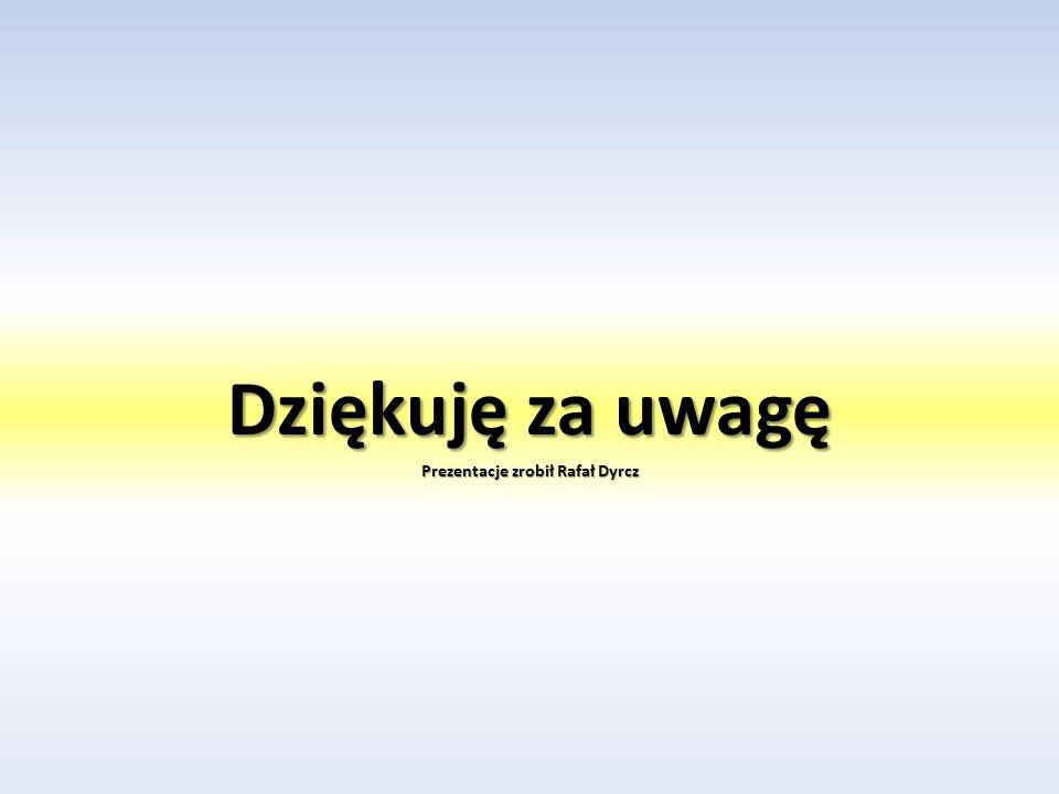 Prezentacje zrobił Rafał Dyrcz