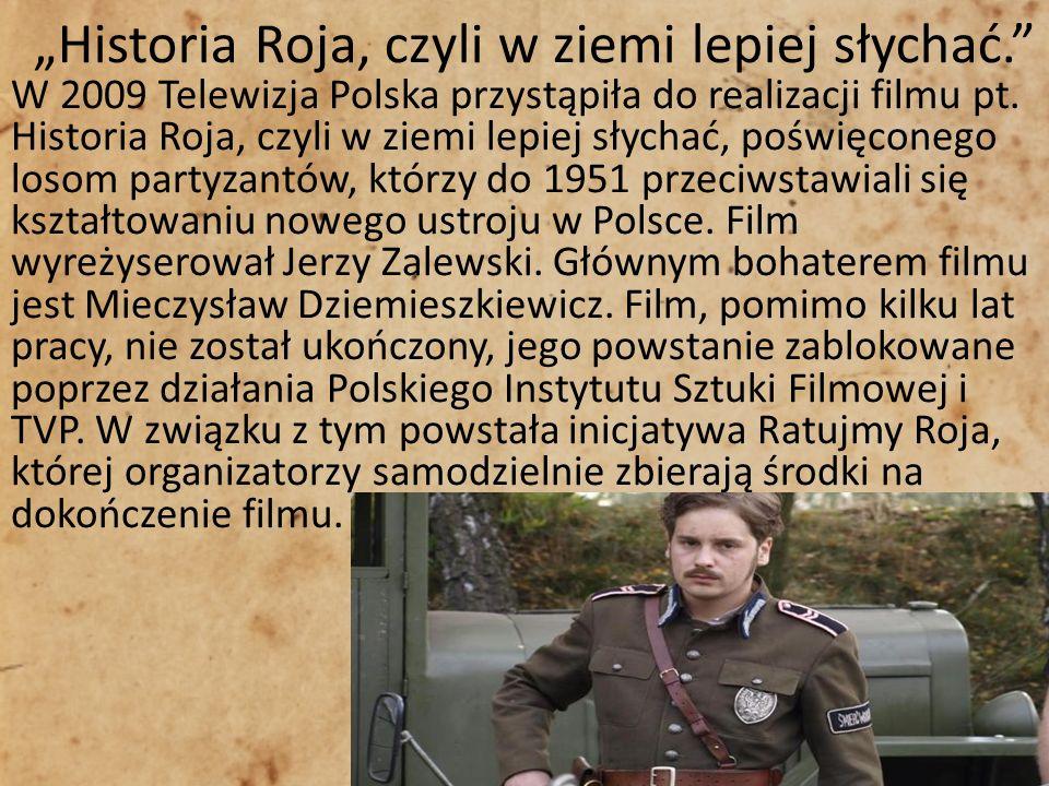 """""""Historia Roja, czyli w ziemi lepiej słychać."""