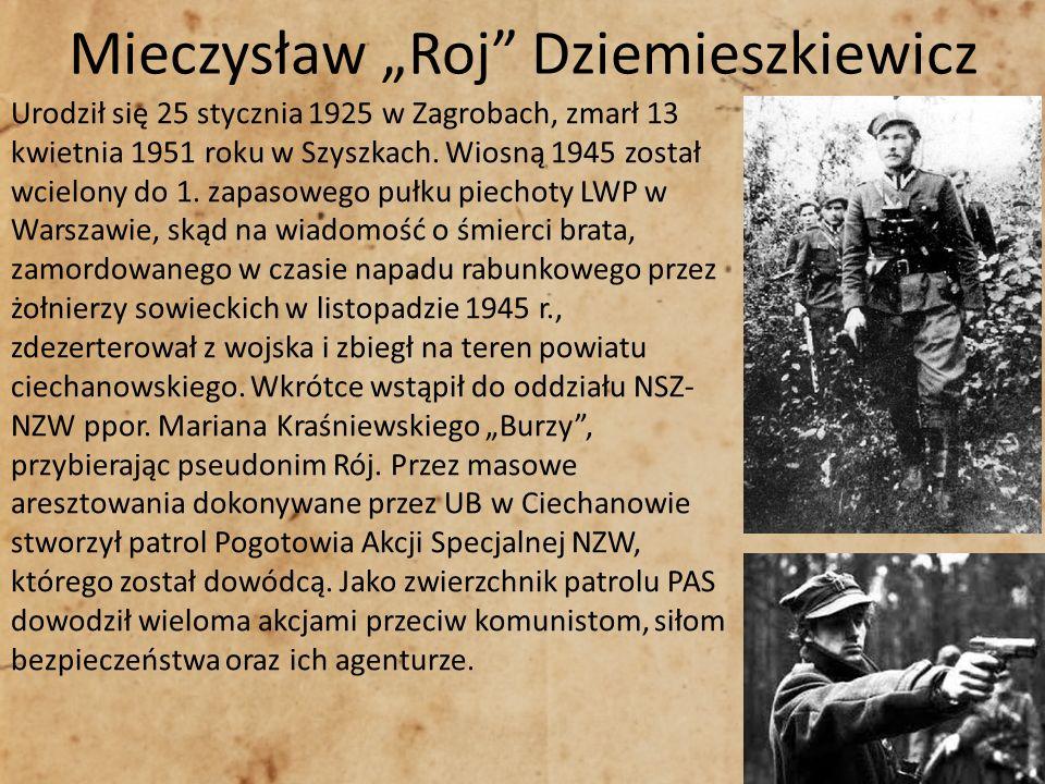 """Mieczysław """"Roj Dziemieszkiewicz"""