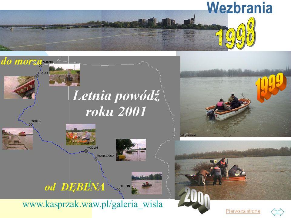 Wezbrania 1998 1999 2000 www.kasprzak.waw.pl/galeria_wisla 2017-03-30