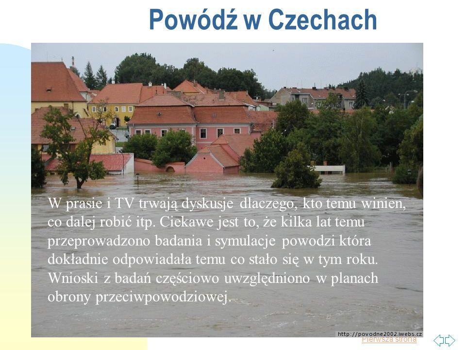 Powódź w Czechach 2017-03-30.