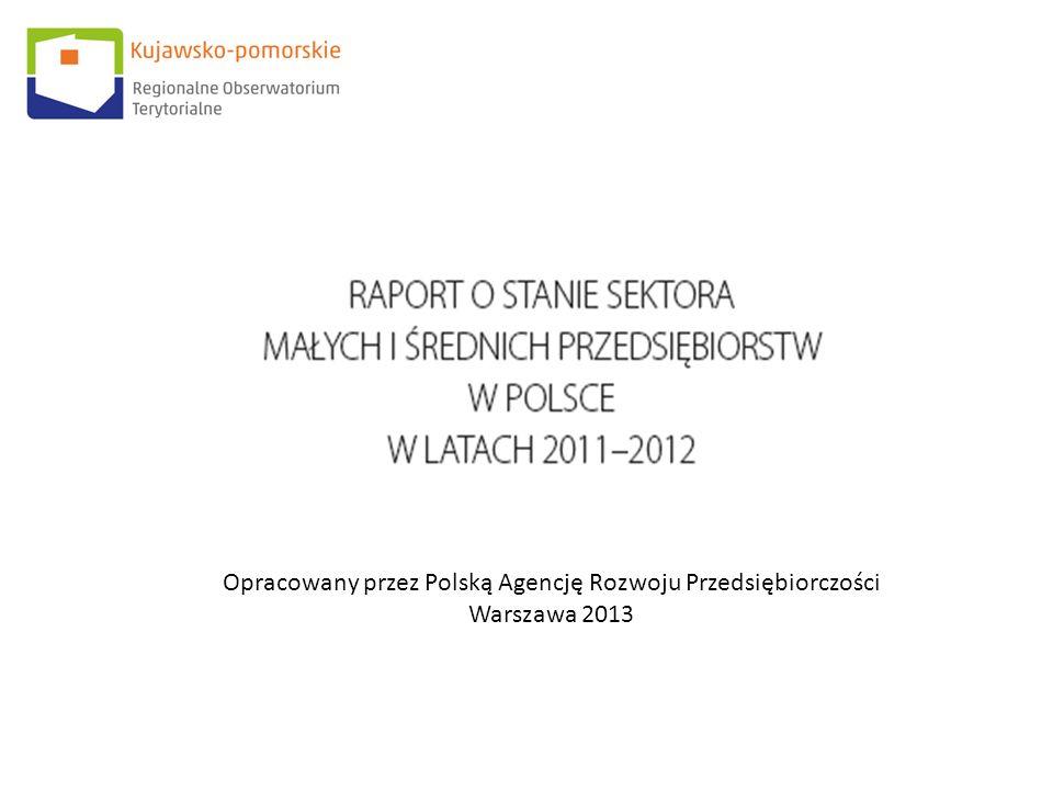 Opracowany przez Polską Agencję Rozwoju Przedsiębiorczości Warszawa 2013
