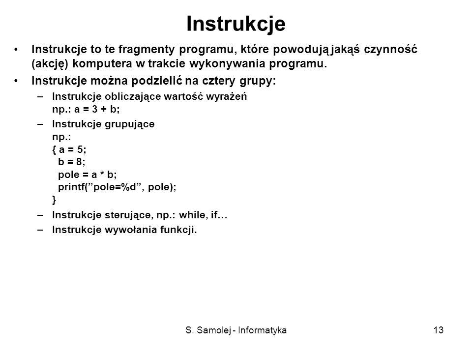S. Samolej - Informatyka