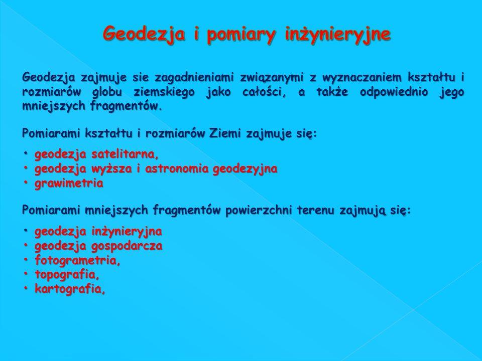 Geodezja i pomiary inżynieryjne