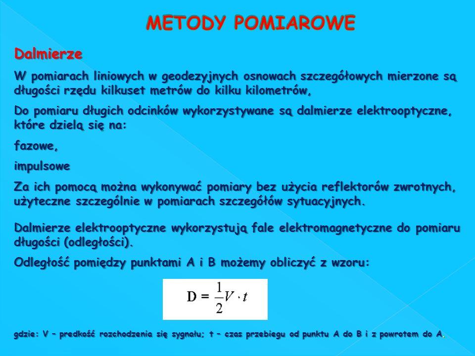 METODY POMIAROWE Dalmierze