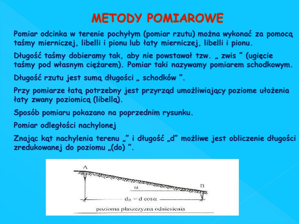 METODY POMIAROWE