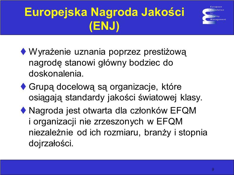 Europejska Nagroda Jakości (ENJ)
