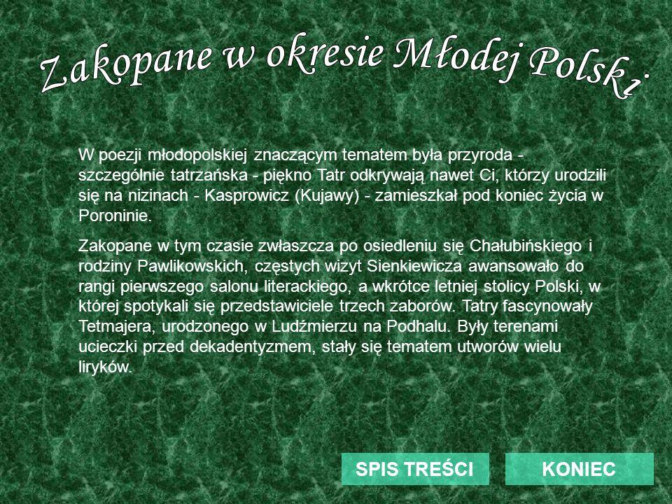Zakopane w okresie Młodej Polski
