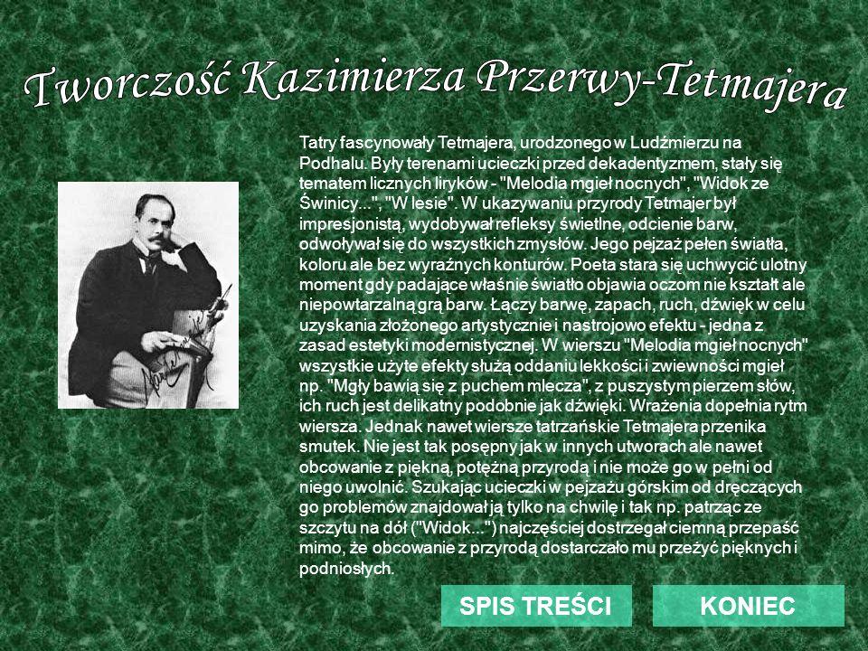 Tworczość Kazimierza Przerwy-Tetmajera