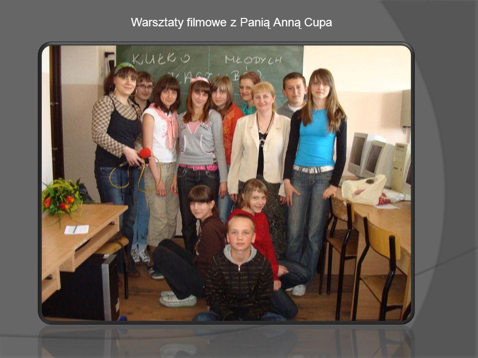 Warsztaty filmowe z Panią Anną Cupa