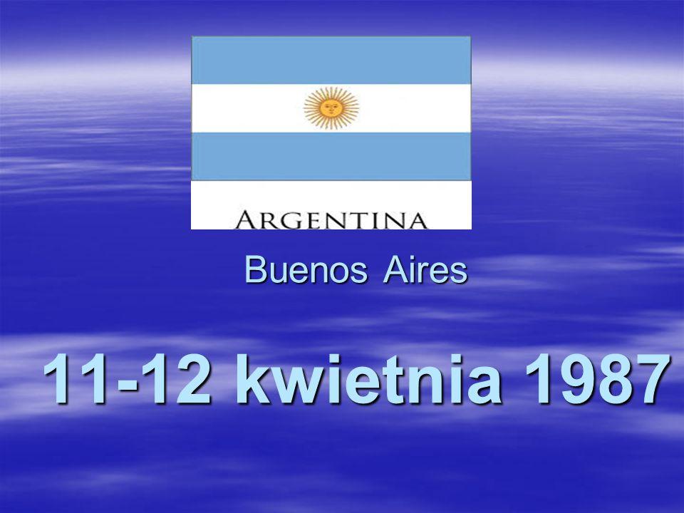Buenos Aires 11-12 kwietnia 1987