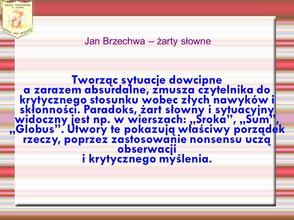 Jan Brzechwa – żarty słowne