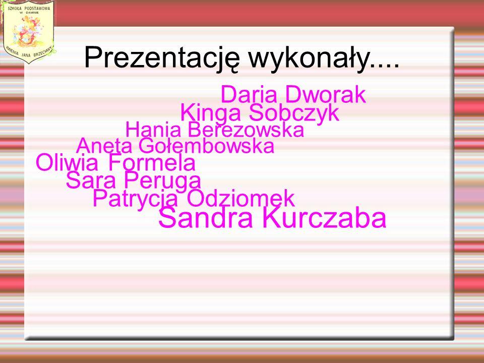 Prezentację wykonały.... Daria Dworak Kinga Sobczyk Hania Berezowska