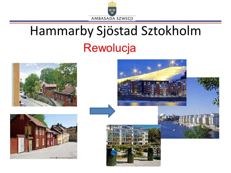 Hammarby Sjöstad Sztokholm