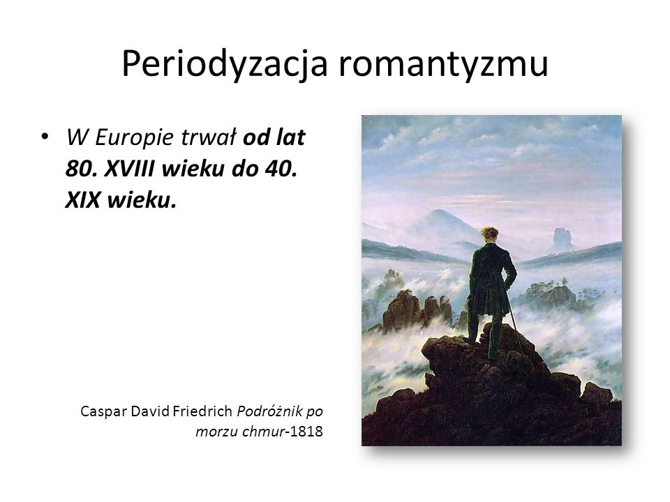 Periodyzacja romantyzmu