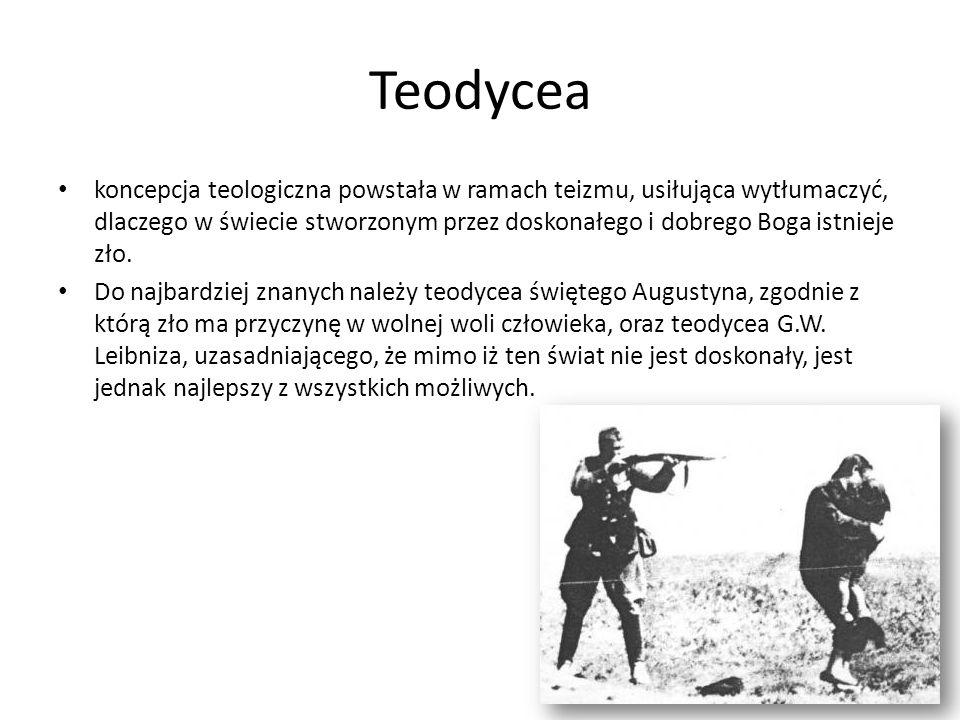 Teodycea