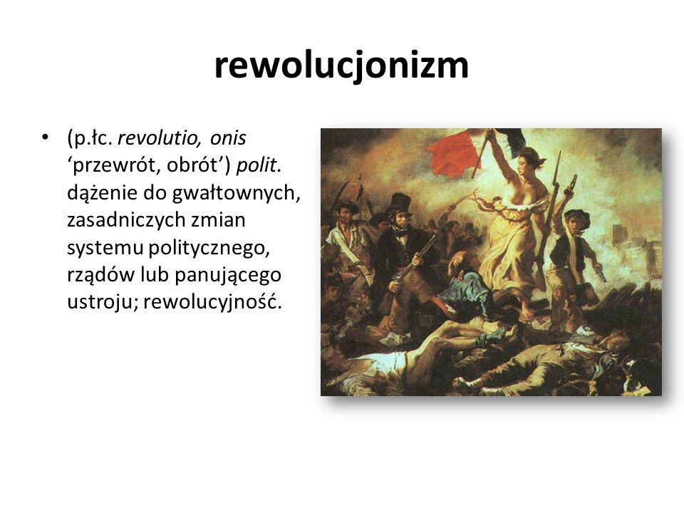 rewolucjonizm