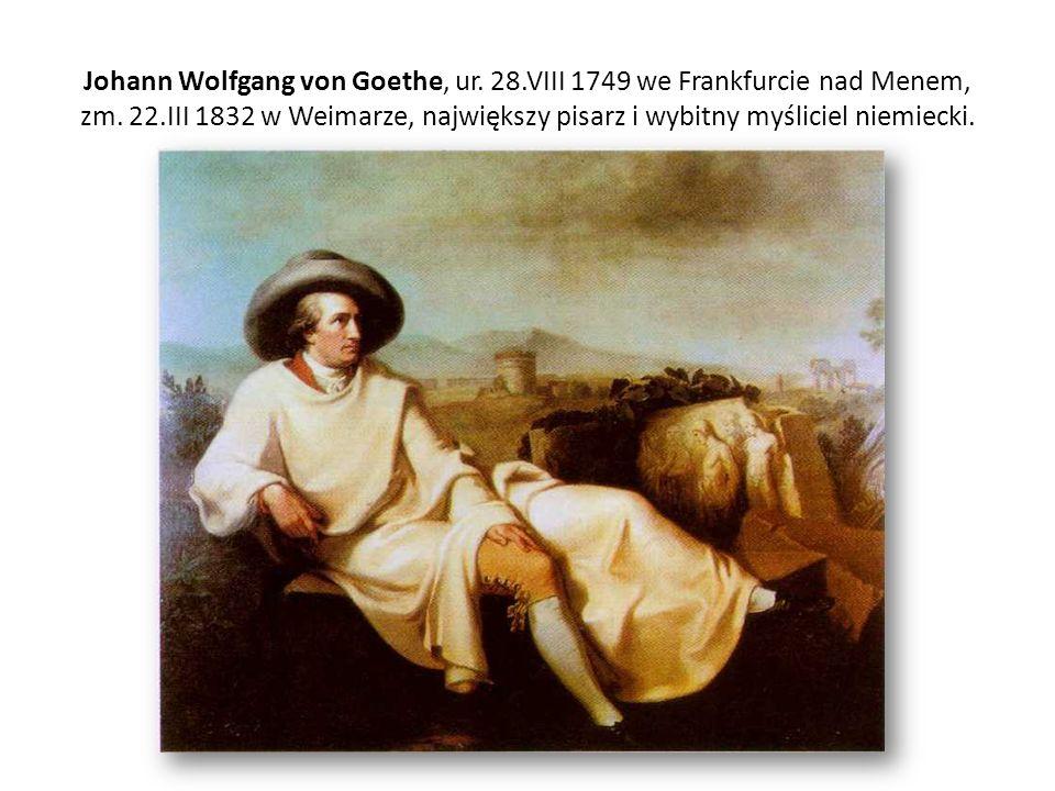 Johann Wolfgang von Goethe, ur. 28