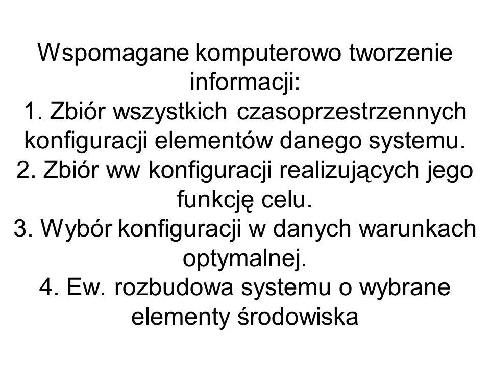Wspomagane komputerowo tworzenie informacji: 1